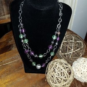 Jewelry - Beaded Double Strand Necklace